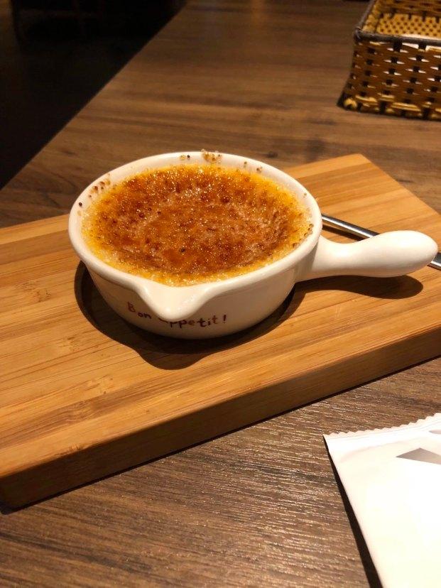 茶六燒肉堂朝富店 法式焦糖燉蛋